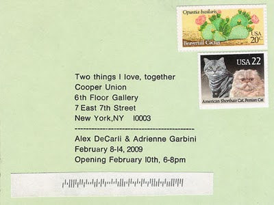 Two things I love, together, Adrienne Garbini, Alex DeCarli
